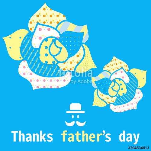 父の日ギフトカードデザイン(AdobeStock素材販売)